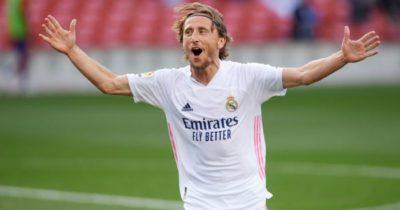Luka Modric กองกลางตัวทำเกมทำผลงานพาเรอัลมาดริด ผ่านเข้ารอบ