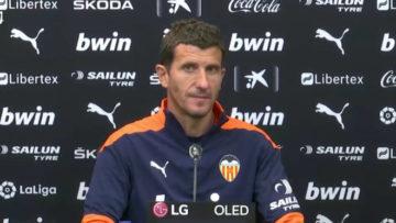Valencia ยืนยันแล้วปลด javi gracia ออกจากตำแหน่งกุนซือ