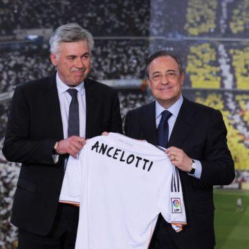 Ancelotti โพสอำลาทอฟฟี่ เอฟเวอร์ตัน เลือกกลับไปทีมรักราชันชุดขาว