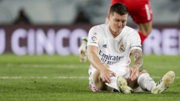 Toni Kroos รับมีอาการบาดเจ็บมาร่วม 6เดือนแล้ว
